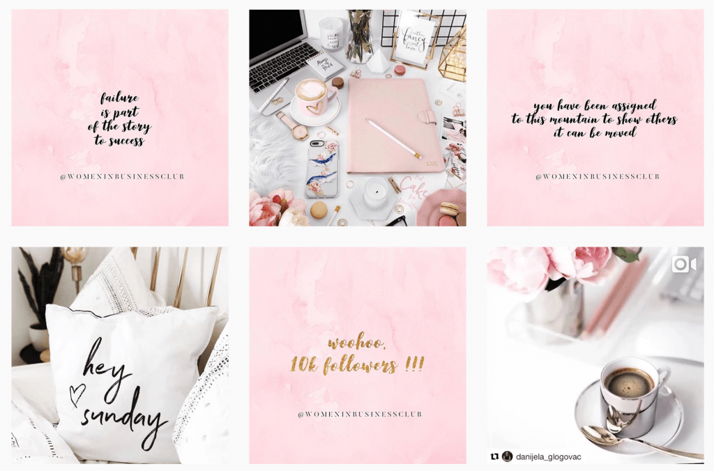 Women In Business Instagram