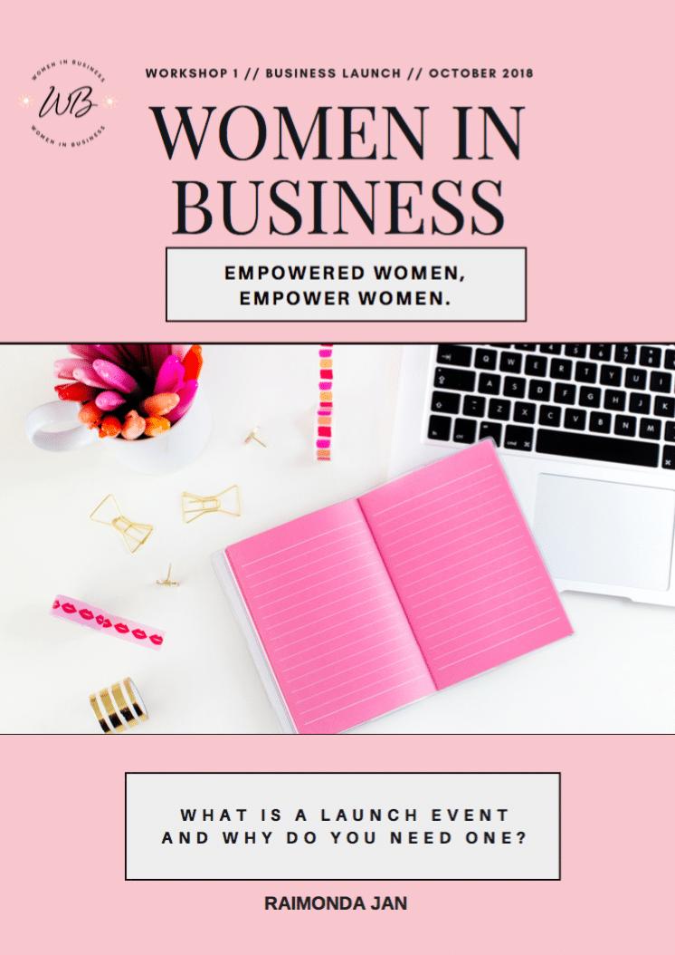 Women in Business Member's Club 4