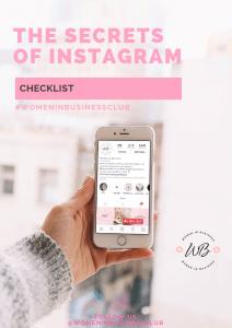 Women In Business Instagram Checklist