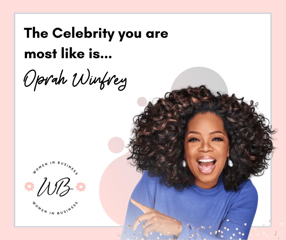 Quiz Results Oprah 1