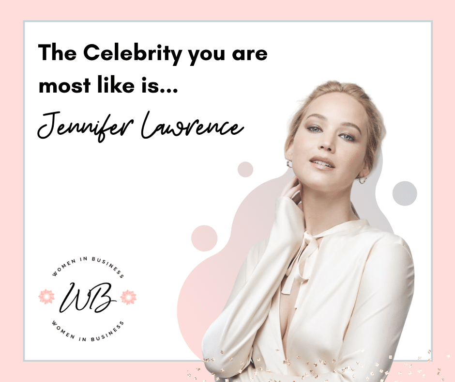 Quiz Results Jennifer Lawrence 1