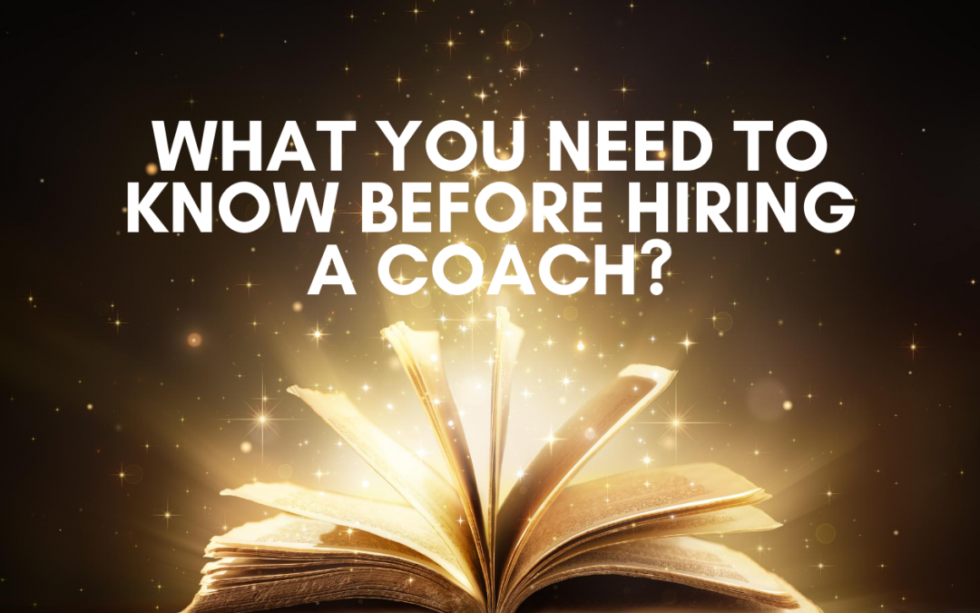 What You Need to Know Before You Hire Business Coach?