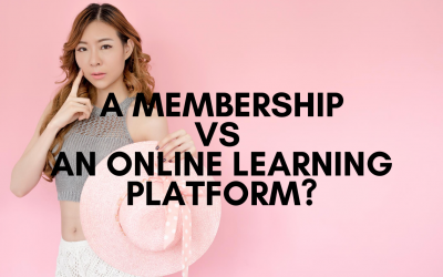 Difference Between a Membership Site vs an Online Learning Platform?