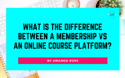 What is the difference between a Membership vs an online course platform?