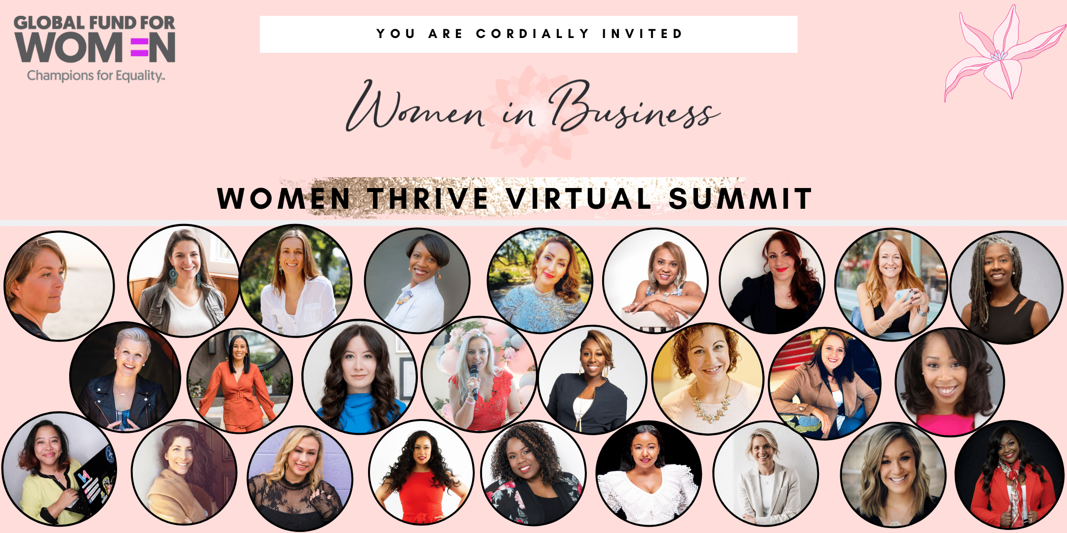 Women Thrive Summit 1