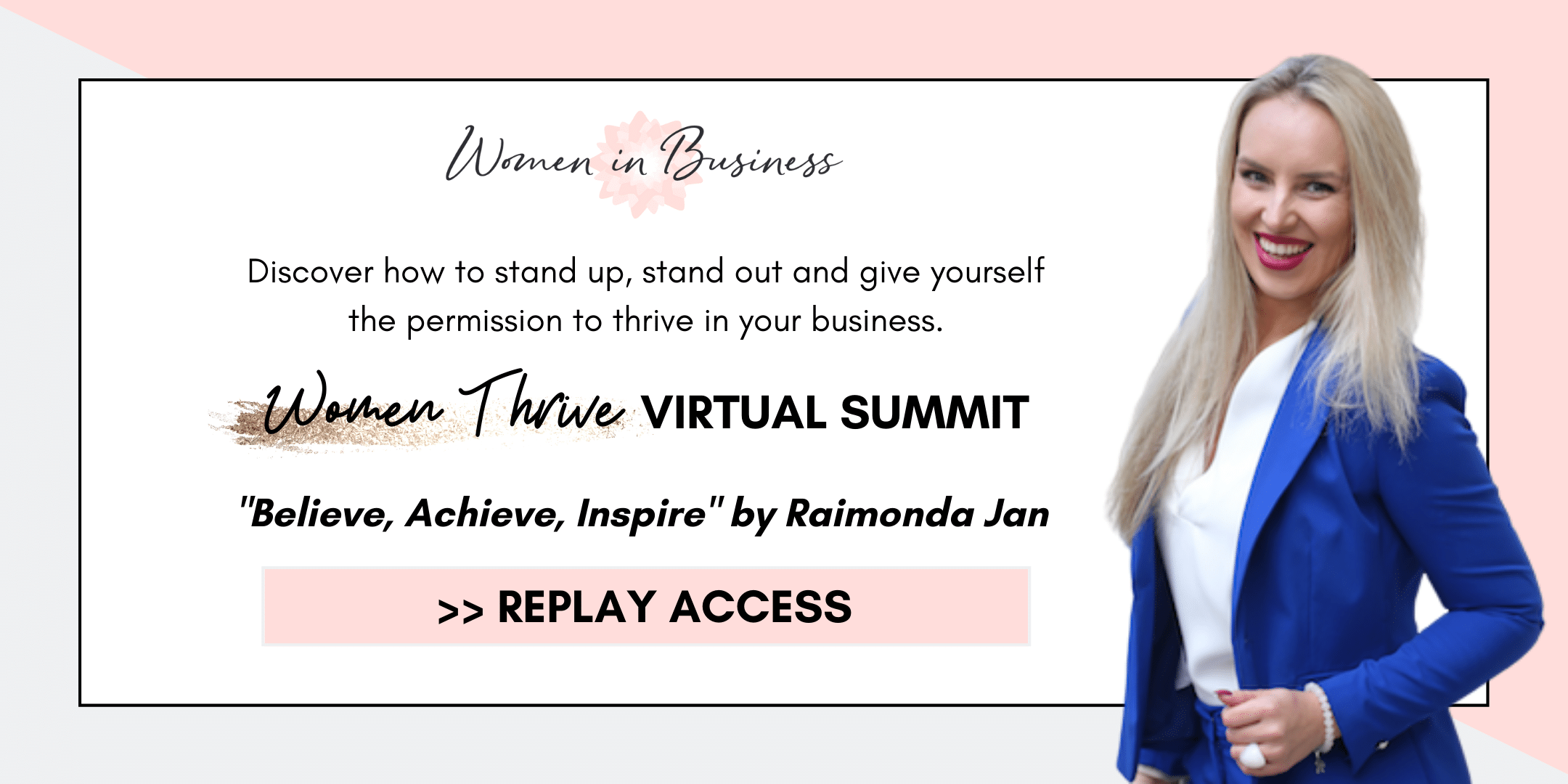 Women Thrive Summit 2