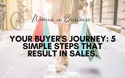 Your Buyer's Journey: 5 Simple Steps that result in sales