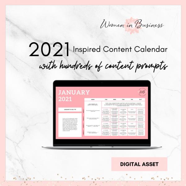 Social Media Content Calendar 1