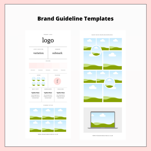 Brand Guidelines Template 1