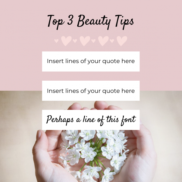 Social Media Templates for Business in Beauty 3