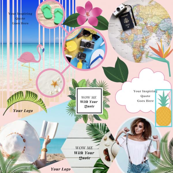 Instagram Puzzle Templates 7