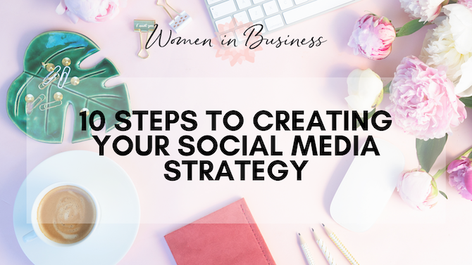 10 Steps to Creating Your Social Media Strategy