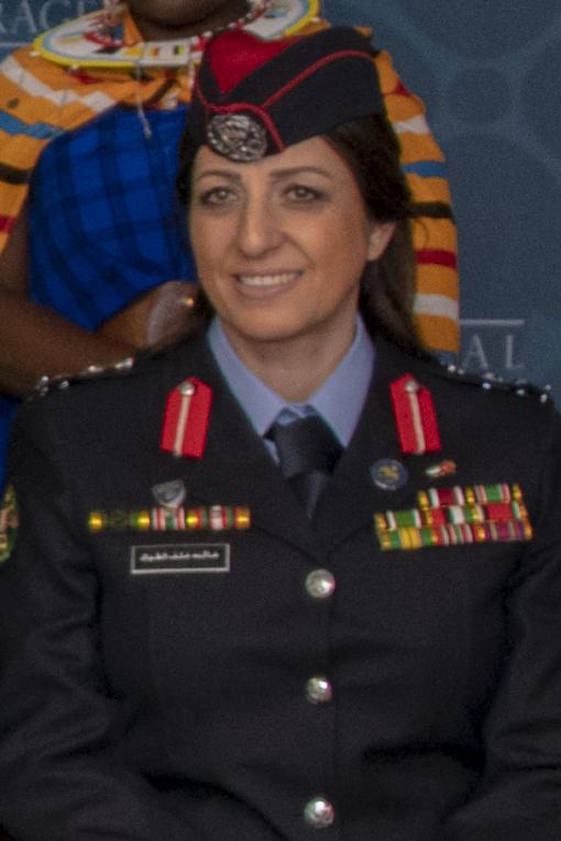 Colonel Khalida Khalaf Hanna al-Twal