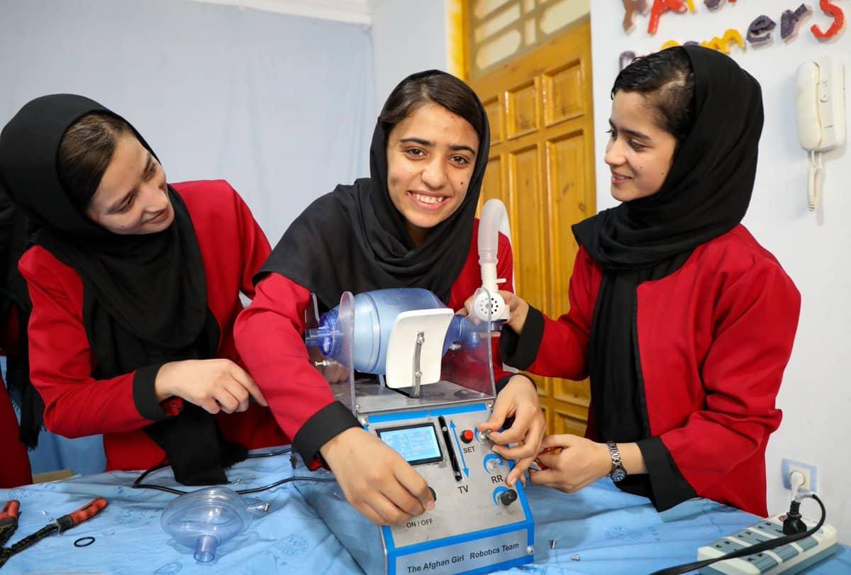 Inspiring Somaya Faruqi Afghanistan