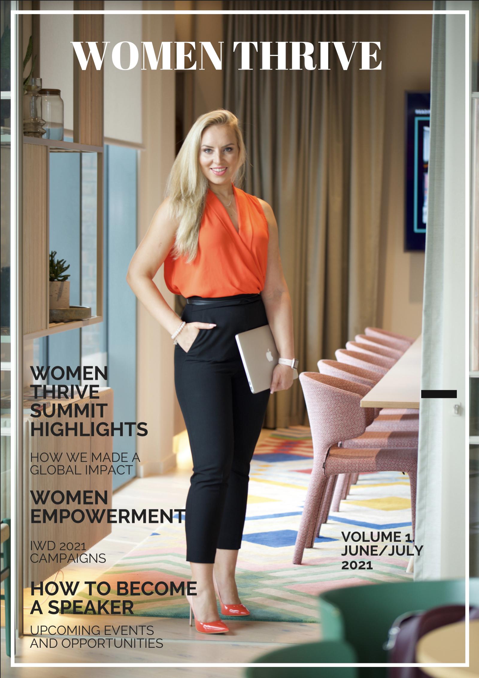 Women Thrive Magazine Vol. 1