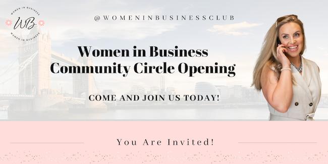 women in business community